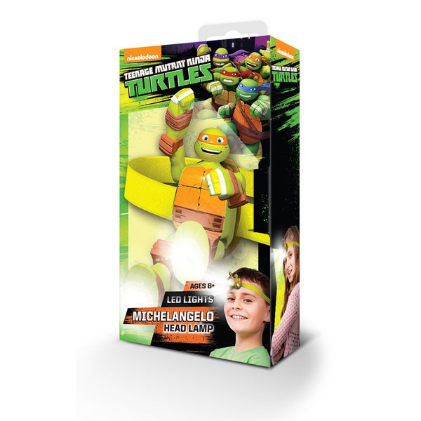 LEGO Teenage Mutant Ninja Turtle Michelangelo Head Lamp 16560471