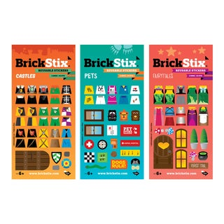 BrickStix My Imagination Building Block Sticker Set