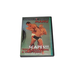Total Grappling Vale Tudo Escapes DVD Manu M-137 MMA gracie jiu jitsu Muay Thai