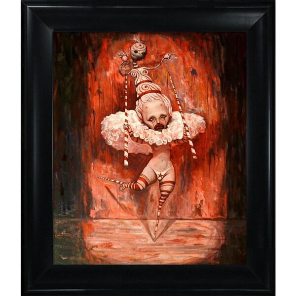 Adrian Borda 'Happy Feet' Framed Fine Art Print