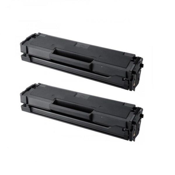 2PK Compatible for Samsung MLT-D111S Black Toner Cartridge (Pack of 2)
