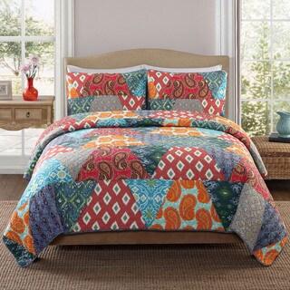 Frankie Cotton 3-piece Quilt Set
