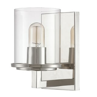 Austin Allen & Company Sloan Collection 1-light Polished Nickel Wall Sconce