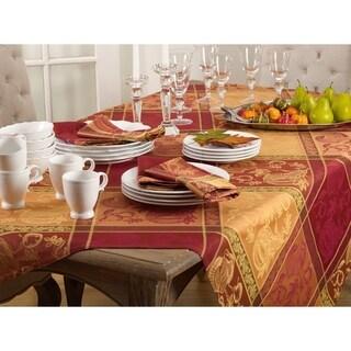 Jacquard Design Thanksgiving Tablecloth