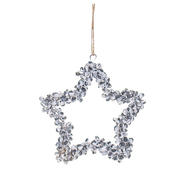Jingle Bell Star Ornament