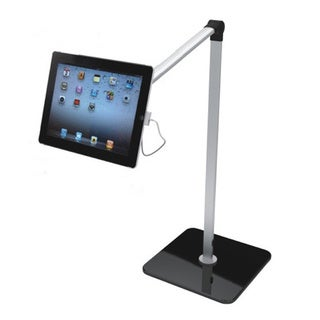 270-degree Adjustable Angle Tablet Floor Stand for Apple iPad 2/ 3