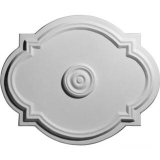 Quatrefoil 24-inch Ceiling Medallion