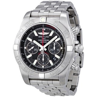Breitling Men's AB011010-BB08 'Chronomat 44 Flying Fish' Chronograph Automatic Stainless Steel Watch