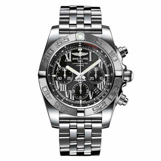 Breitling Men's AB011011-B956 'Chronomat 44' Chronograph Automatic Stainless Steel Watch