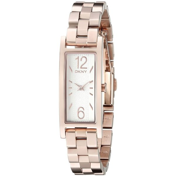 DKNY Women's NY2429 'Pelham' Rose-Tone Stainless Steel Watch