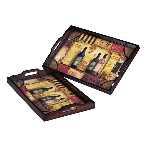 Sterling Trays (Set of 2)