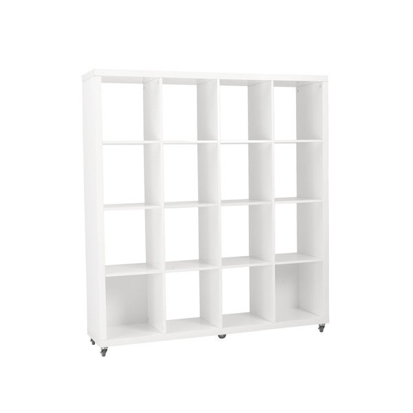 Sabra White 4X4 Shelving Unit