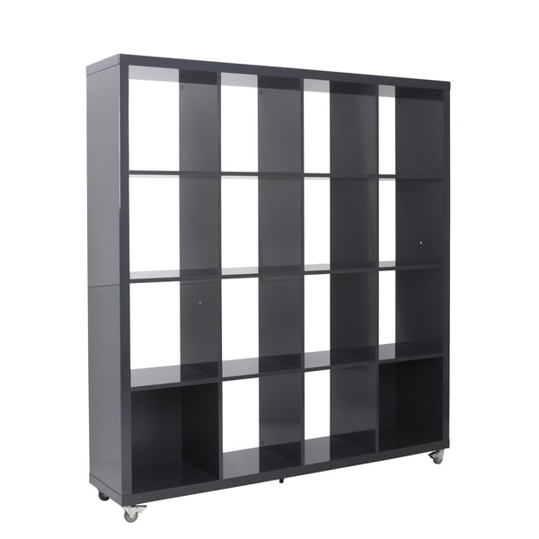 Sabra Grey 4X4 Shelving Unit