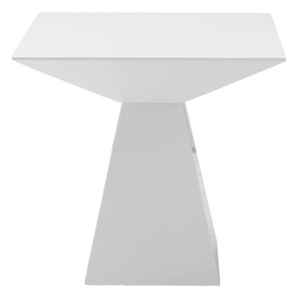 Tad Side Table - White