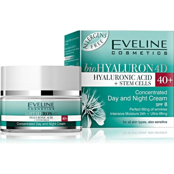 Eveline Bio Hyaluron 4D Concentrated Day And Night Cream 40+