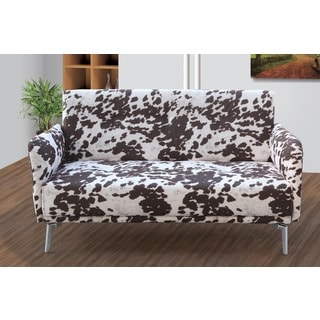 Emma Print Pattern Fabric Modern Loveseat