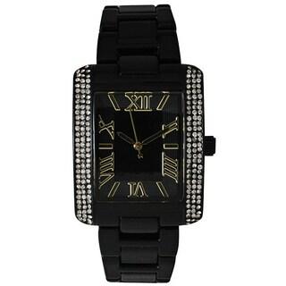 Olivia Pratt Women's Classy Rectangular Bracelet Watch