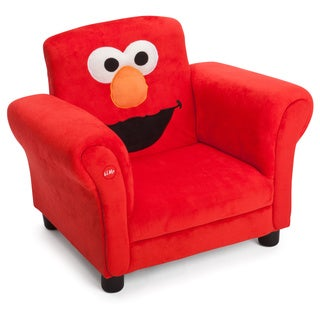Delta Children Sesame Street Upholstered Chair with Sound