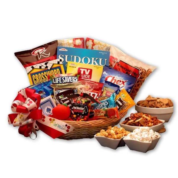 Feel Better Soon Get Well Gift Basket
