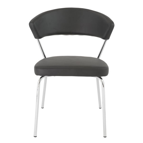 Draco Black Side Chairs (Set of 4)
