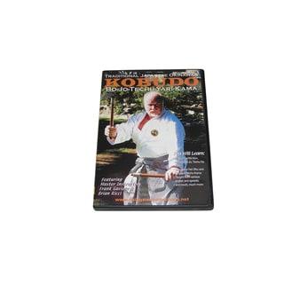 Kobudo Bo Jo Techu Yari Kama Naginata DVD Gaviola & Ricci #237 rare forms