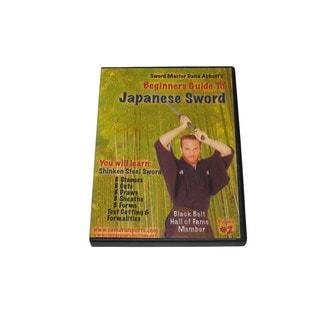 Beginner Guide Japanese Samurai Sword Shinken Steel DVD Abbott iaido kendo blade