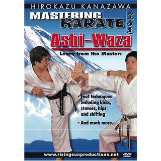 Mastering Karate #2 Ashi Waza DVD Hirozaku Kanazawa RS164 Kicking Stances