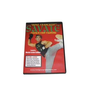 Savate French Foot Fighting kickboxing block kicks DVD Lester Griffins RS63