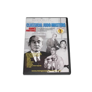 1948-1956 Classical Judo Masters Kano Proteges 10th Dan DVD Hal Sharp RS150