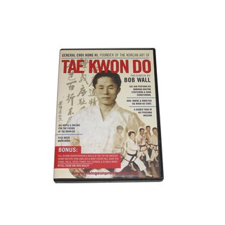 Korean Tae Kwon Do Karate DVD General Choi Hong Hi taekwondo history
