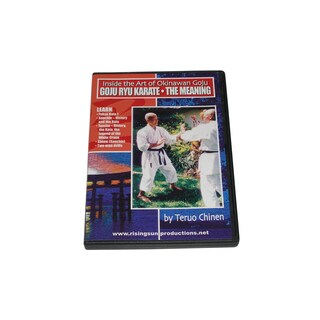 Inside Miyazato Okinawan Goju Ryu Karate Meaning DVD Teruo Chinen Jindokan
