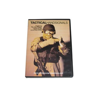 SWAT Spec Ops Tactical Hand Signals Training DVD Jim Wagner law enforcement cop