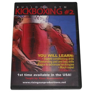 German Bulldog Gym Karate Kickboxing Fighting #2 DVD Klaus Nonnemacher thai
