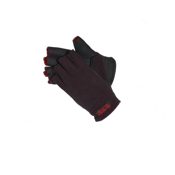 Glacier Gloves Alaska River Fingerless Glove Black