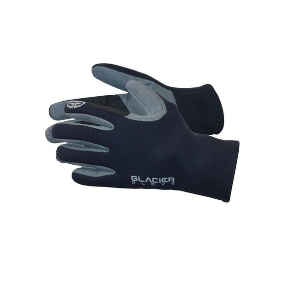 Glacier Glove Neoprene Guide Gloves, Black