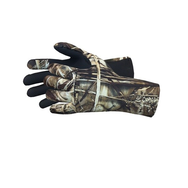 Glacier Glove Camo Aleutian Neoprene Full Finger