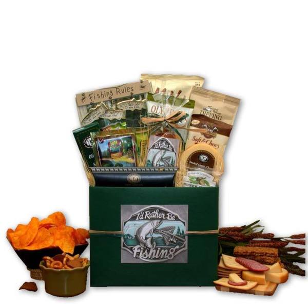 I 39 d rather be fishing gift box shopswell for Fishing gift box