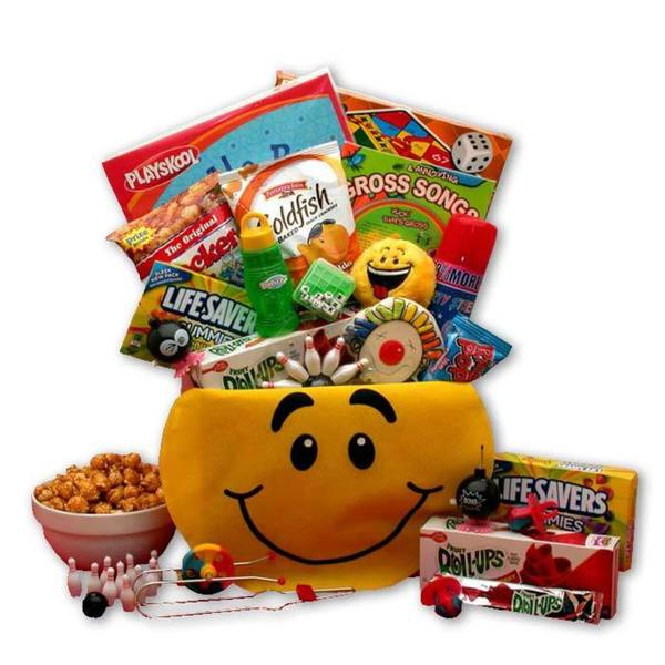 A Smile Today Smiley Face Gift Box
