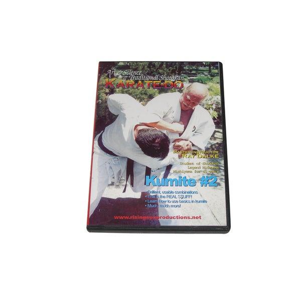 Nishiyama Shotokan Karate Kumite Fighting Sparring #2 DVD Ray Dalke secrets jka 16562447