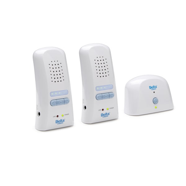 Delta Children Safe-n-Clear Digital Baby Monitor with 2 Parent Units