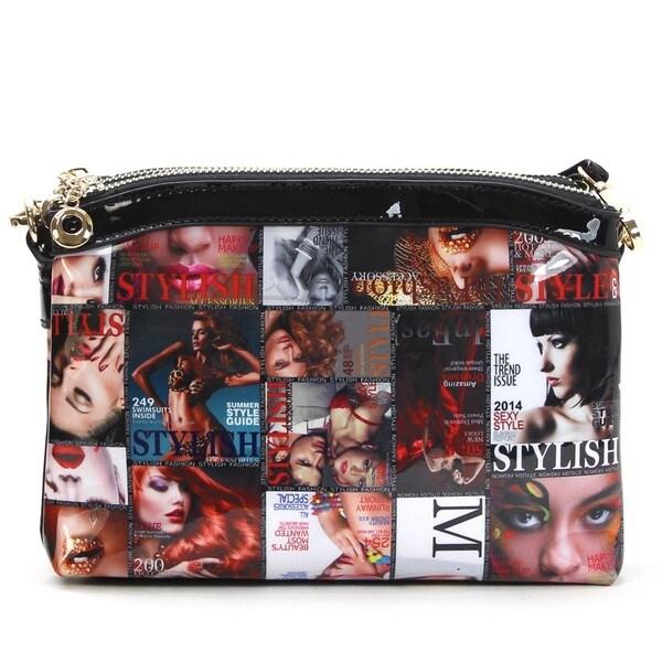 Chacal Taylor Secret Windows Magazine Cover Crossbody Bag