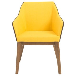 Elias Arm Chair (Set of 2) - Yellow