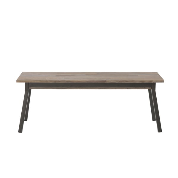 Macbeth Bench - Walnut/Black