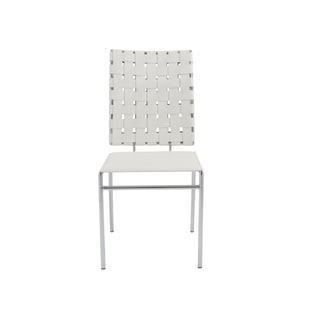 Carina White Side Chairs (Set of 4)