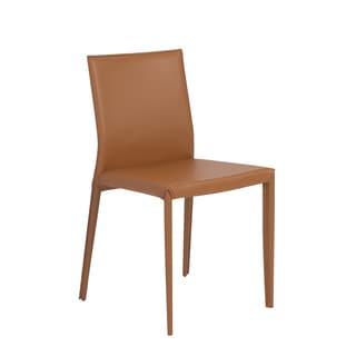 Shen Cognac Side Chair (Set of 4)