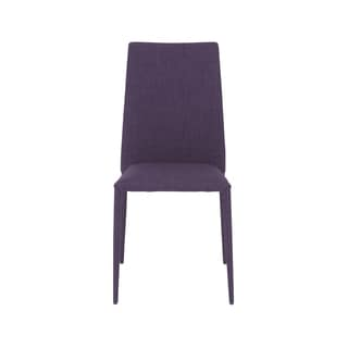 Chessa Purple Side Chairs (Set of 4)
