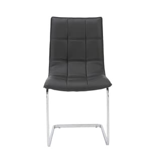 Chad Black Side Chairs (Set of 2)
