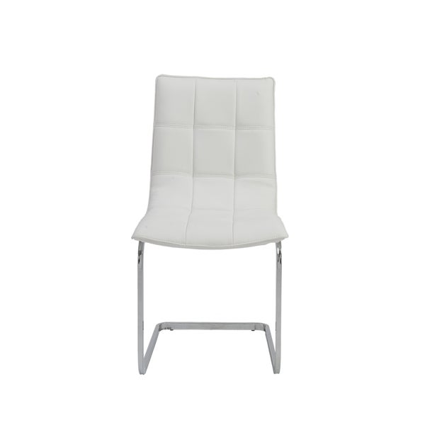Chad White Side Chairs (Set of 2)