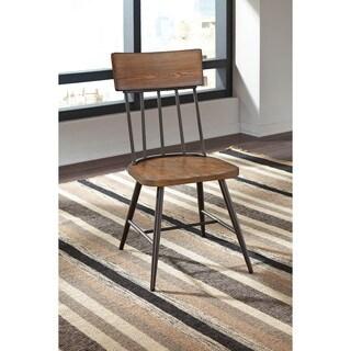 Signature Design by Ashley Jorwyn Light Brown Side Chair