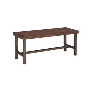 Signature Design by Ashley Riggerton Burnished Brown Bench